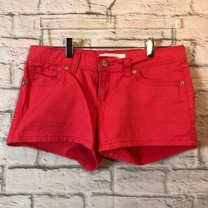 LEVI'S Colored Jean Shorts 29